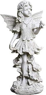 التماثيل الخارجية حديقة الشكل ملاك النحت الديكور حديقة المناظر الطبيعية حديقة ديكور فندق الحرف (اللون: أبيض، الحجم: 45 * 2...