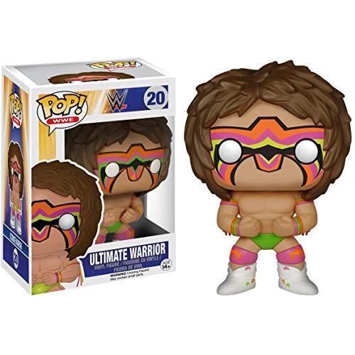 Ultimate Warrior: WWE x Funko POP! WWE Vinyl Figure & 1 POP! Compatible PET Plastic Graphical Protector Bundle [#020 / 06713 - B]