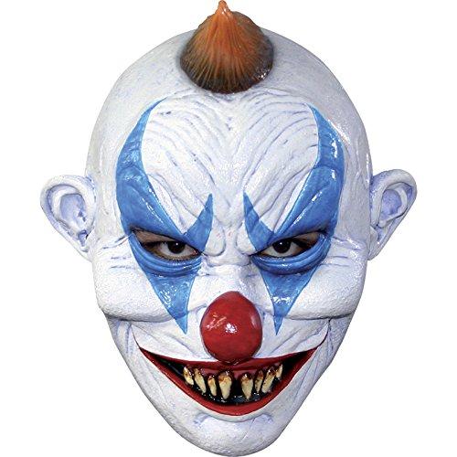 Générique Mahal622–Máscara de Payaso de Terror, de látex, para Adulto–Talla única