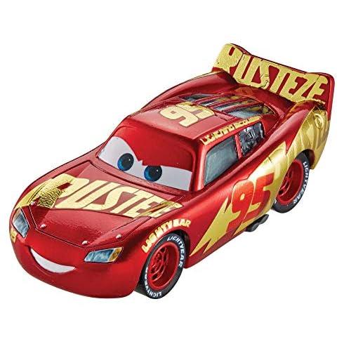 Disney Cars- Saetta McQueen Centro Corse Rust Eze, DXV45