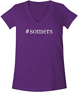 The Town Butler #Somers - A Soft & Comfortable Women's V-Neck T-Shirt
