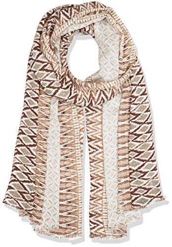 Olsen Damen Scarf Woven Tücher, Beige (Cuban Sand 10012St), One Size