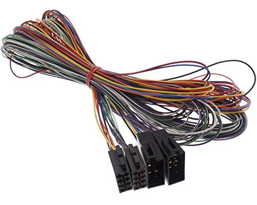 ISO Extensión conector hembra Cable 5m adaptador de radio altavoz corriente Parrot