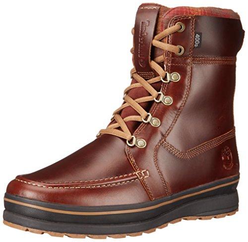 Timberland Men's Schazzberg High WP Insulated Winter Boot, Brown, 10 M US