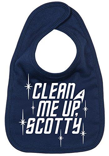Baby Fütter Lätzchen, mit mir Scotty. Sci Fi Trekkie -