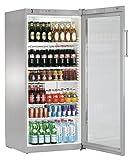 Liebherr FKvsl 5413 Premium Kühlschrank, freistehend, silberfarben, 6 Regale, rechts, R600a, 572 l