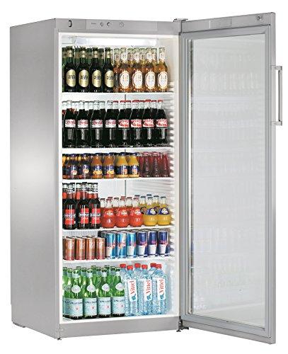 Liebherr FKvsl 5413Premium autonome Silber Kühlschrank Getränkespender–Kühlschränke Getränkespender (autonome, silber, 6Einlegeböden, rechts, R600a, 572L)
