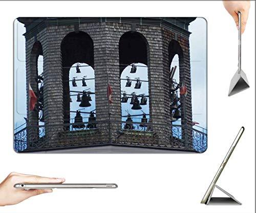 Case for iPad Pro 12.9 inch 2020 & 2018 - Glockenspiel Salzburg Old Town Residenzplatz