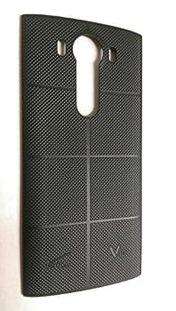 LG V10 H990 Black Standard Back Cover Battery Door  Bulk Packaging