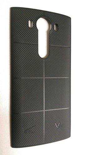 LG V10 H990 Black Standard Back Cover Battery Door (Bulk Packaging)