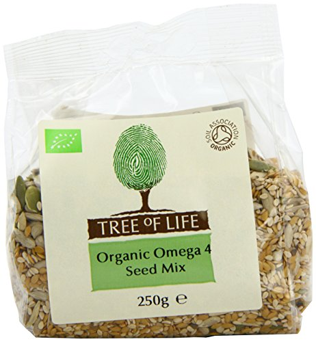 Tree of Life Organic Omega 4 Seed Mix 250 g (Pack of 6)