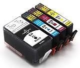 Bergsan 4 Druckerpatronen mit Chip kompatibel für HP 934 XL 935 XL zu HP Officejet Pro 6830 6820 6230 6835 6836 6220 6800 Serie 6825 HP Officejet 6812 6815