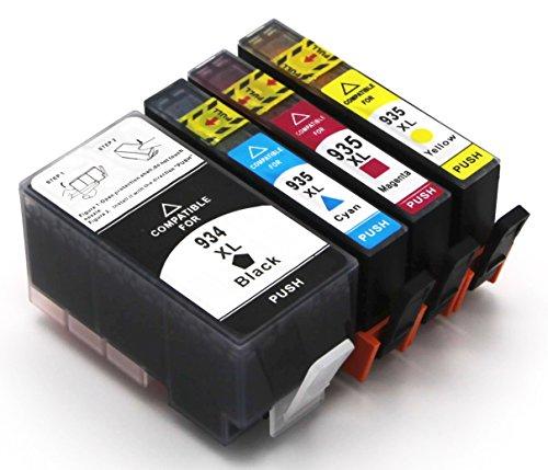 Cartucce per stampante compatibili con HP 934XL 935XL, per OfficeJet 6800 Series 6820 6822 6825 Pro 6200 Series 6230 6235 6239 6830 6835