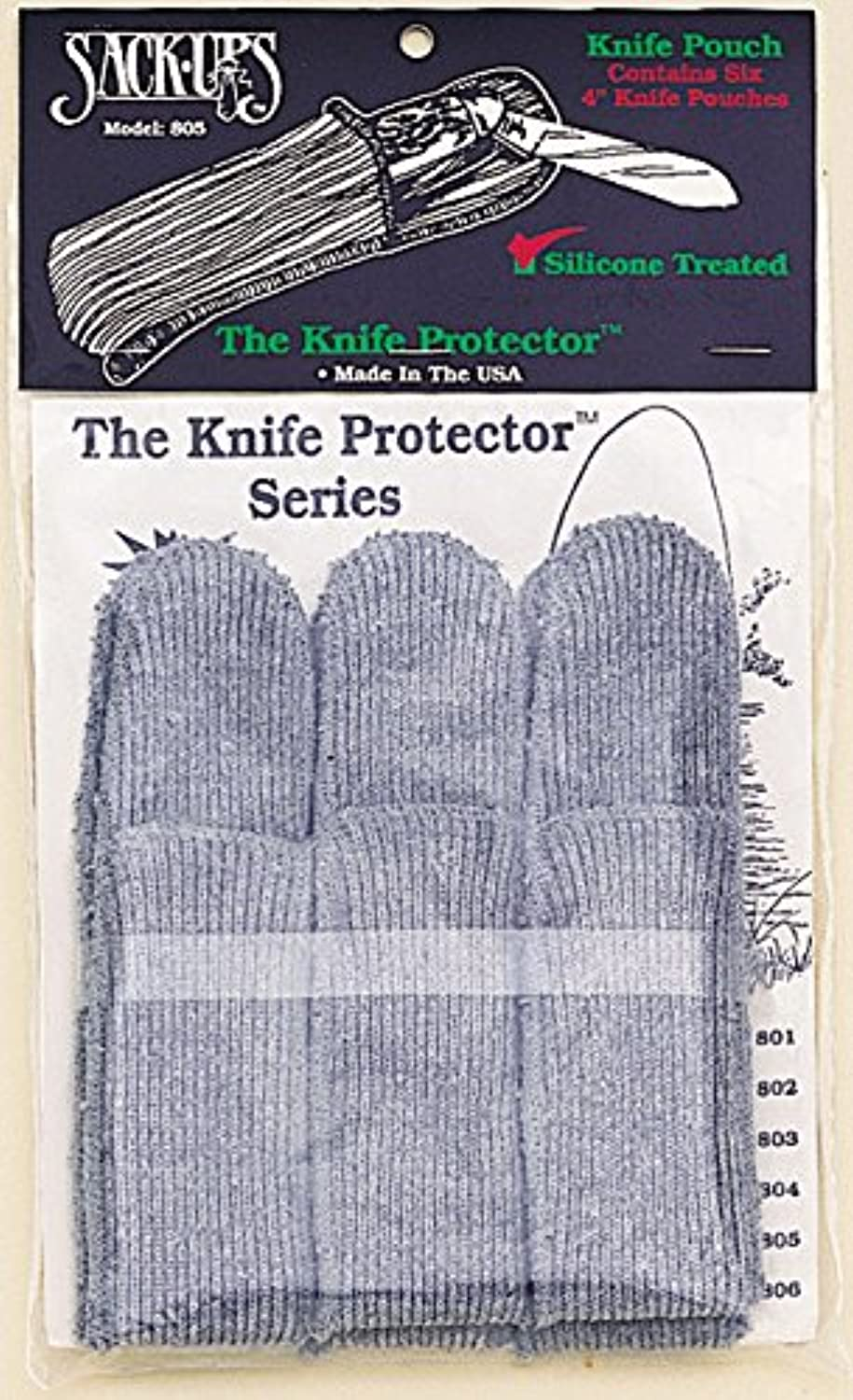 AC 803 6 Piece Assorted Knife Roll Predectors