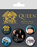 Queen Set di Spille, Combinazione, Multi-Colour, 10 x 12.5cm...
