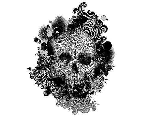 Apalis Wandtattoo No.503 Skull WandSticker WandTattoo Totenkopf Piraten Illustrationen