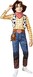 Siyimue Kids Cowboy Costume for Halloween Holiday Party, 3 Pieces Set (Hat, Neckerchief, Jumpsuit)
