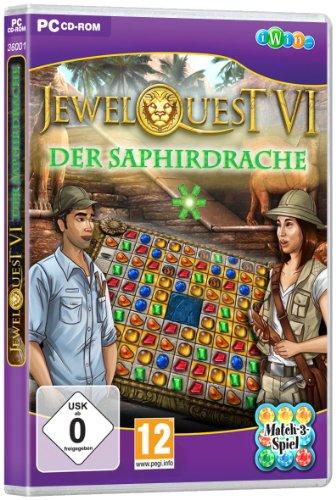 Jewel Quest 6: The Saphire Dragon [PC]