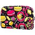 Lip Rose Macaron Diamond Lollipops Trousse de maquillage pour sac à main, trousse de toilette de voyage, organisateur de cosmétiques, pochette polyvalente à fermeture éclair pour femmes et filles