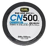 DUEL(デュエル) カーボナイロンライン 2号 CN500 500m 2号 CL クリアー H3452-CL