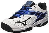 Mizuno 61GC1725, Zapatillas de Tenis para Hombre, (White/Black/DirectoireBlue 09), 46 EU
