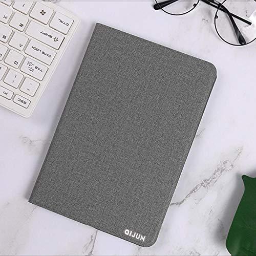 Flip Case für Huawei Media Pad T1 10 T1-A21W T1-A21L T1-A23L 9.6 Abdeckung für Business-Tablet-Hüllen Ledertaschen für Mediapad Tab T1-Grau