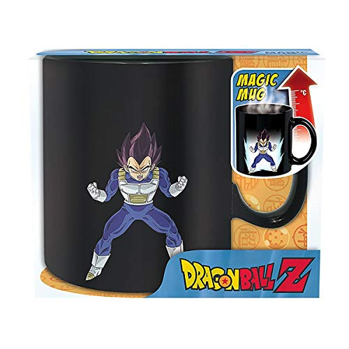 ABYstyle - DRAGON BALL - Mug Heat Change - 460 ml - Vegeta