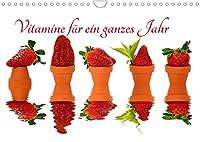 Vitamine fuer ein ganzes Jahr (Wandkalender 2022 DIN A4 quer): Frische, vitaminreiche Obststillleben fuer die Kueche (Monatskalender, 14 Seiten )