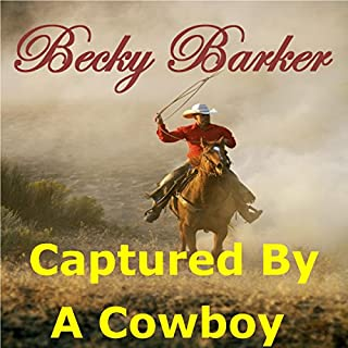 Captured by a Cowboy audiobook cover art