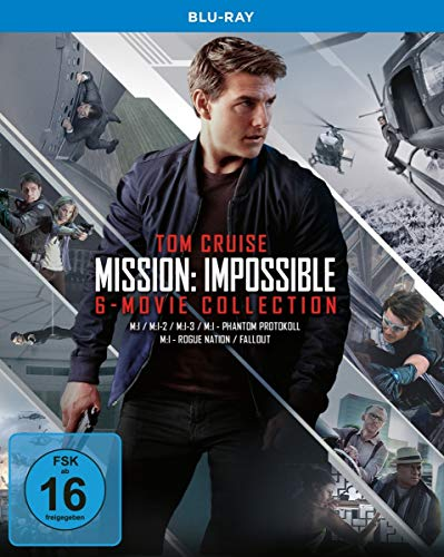 Mission: Impossible - 6-Movie Collection [Blu-ray]