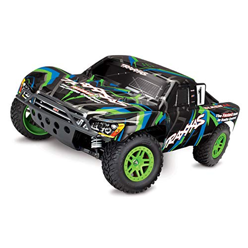 Traxxas Slash 4x4 Brushed inklusive 12V Lader + Akku Short Course Race Truck 2.4GHz TRX68054-1