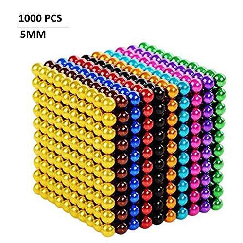 Magic Creative Ball, Juego De Rompecabezas En 3D, Adecuado para Juguetes De Descompresión De Niños Y Adultos (múltiples 10 Colores, 1000 Piezas, 5 Mm)