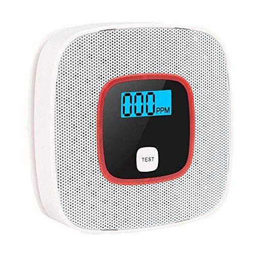 Kohlenmonoxid-Alarm, Überwachung Sicherheit Giftige Gaswarngerät, LCD-Display-Lichtschranke