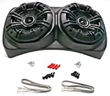Select Increments 1955-1995 Compatible with Jeep CJ YJ Wrangler Centra-Pod with Kicker 6.5' Speakers 91970K65