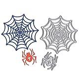 litty089 Stanzschablonen für Halloween, Spinnennetz, DIY, Scrapbooking, Karten, Prägeschablone,...