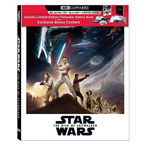 Star Wars: The Rise of Skywalker Limited Edition (4K Ultra/Blu-Ray/Digital Code) con regista Gallery Book e bonus esclusivo