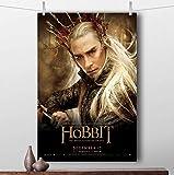 taoyuemaoyi Thranduil Wandkunst Der Hobbit Movie Poster