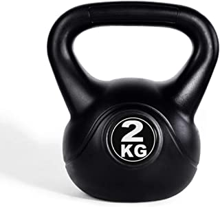 8 kg Tunturi 14TUSCL331 Pesa Rusa Negro//Gris Unisex Adulto