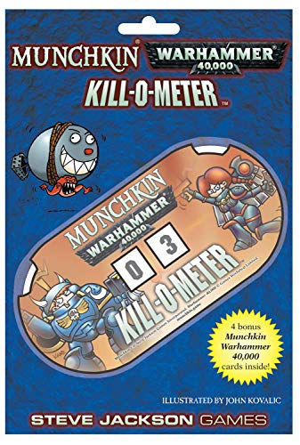 Steve Jackson Games 5647 - Munchkin Warhammer 40k Kill-O-Meter