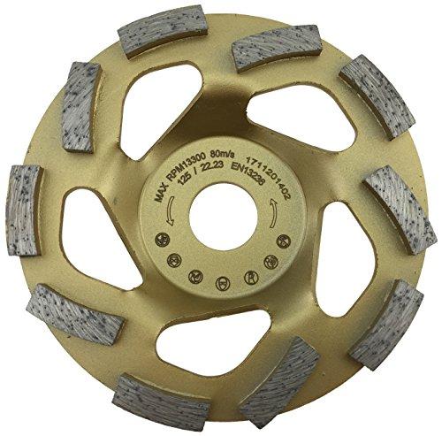 MTrade Diamant-Schleiftopf 125/22,23 mm Beton Turbo für Winkelschleifer