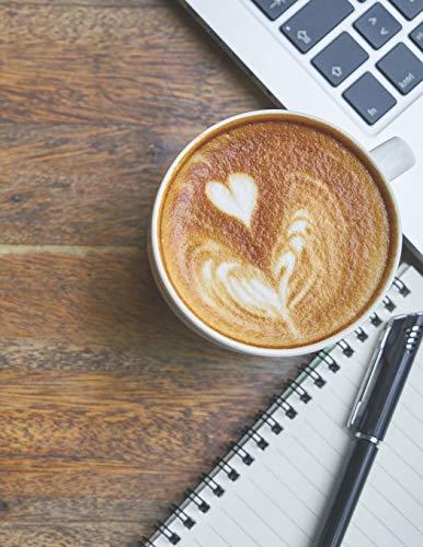 Kaffee Tasting Buch: Dein persönliches Verkostungsbuch zum selber ausfüllen ♦ für über 100 verschiedene Kaffeesorten ♦ Egal ob aus europäischen, ... A4+ Format ♦ Motiv: Kaffee Schreibtisch