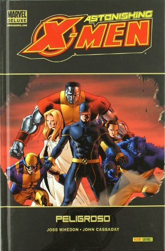 Astonishing xmen 2 peligroso marvel deluxe