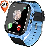 Global Trak Smart GPS Watch with Accurate Live Tracking Location Finder Camera SOS