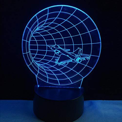 HGFHGD Luces 3D Juguetes para niños decoración del hogar iluminación Bombillas LED...
