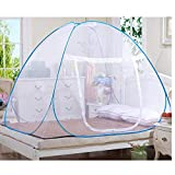 Royal Brands Instant Pop-Up Mosquito Net Tent for Beds Anti Mosquito Bites Folding Design Mesh Net Bottom Babys Adults Portable Camping (78