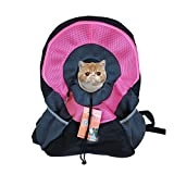 Transportin Gato Transportin Perro Cat Carrier Pet Carrier Pet Mochila Bi-Shoulder Chest Bag Dog out Bag S