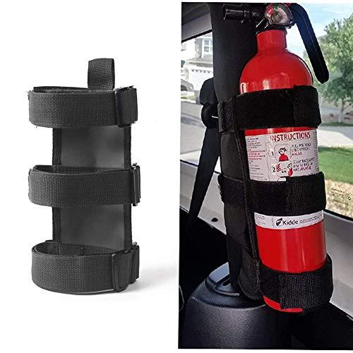 L&U Einstellbare Roll Bar Feuerlöscher Halterung für Jeep Wrangler Unlimited CJ YJ LJ TJ JK JKU JL JLU