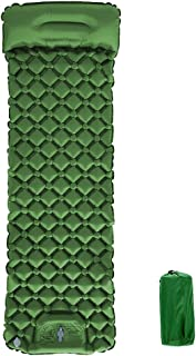 AHPOUN Air Sleeping Mat, Air Mattress, Treading to Inflate, Used for Camping, Traveling and Hiking, The Thickened and Wide...