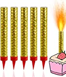 TK Gruppe Timo Klingler 15x Eissterne - Sprühkerzen - Fontänen Eisfontäne Partys & Feuerwerk Silvester Kat. F1 für Jugendlichen & Kinder Jugendfeuerwerk 2021 (15x)