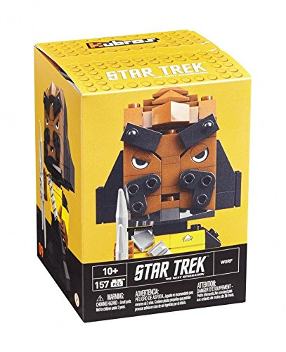 Mega Bloks Mattel DTW68 Kubros Star Trek Klingon, Konstruktionsspielzeug